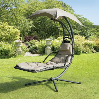 Renava Helicopter  Swing Chair Finish: Beige