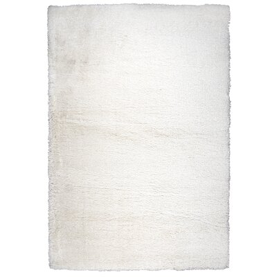 Thalia Cream Shag Area Rug Rug Size: Rectangle 710 x 106