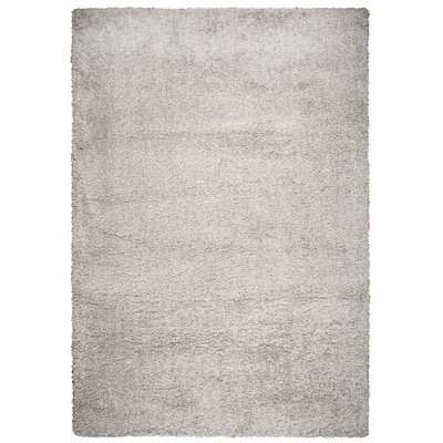 Thalia Gray Shag Area Rug Rug Size: Rectangle 53 x 73