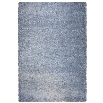 Thalia Blue Shag Area Rug Rug Size: Rectangle 710 x 106