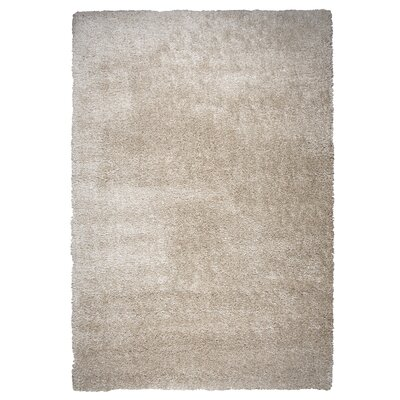 Thalia Beige Shag Area Rug Rug Size: Rectangle 710 x 106
