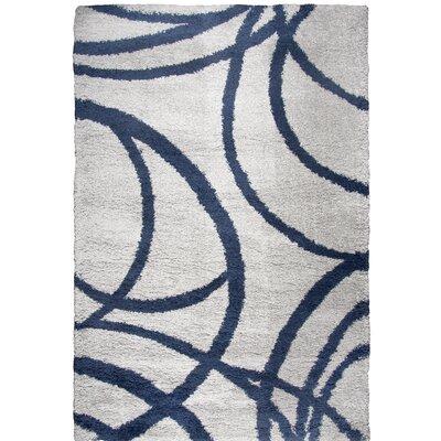 Thalia Gray Shag Area Rug Rug Size: Rectangle 710 x 106