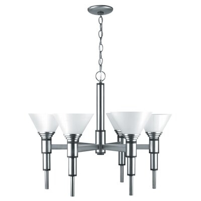 Soto 6-Light Shaded Chandelier
