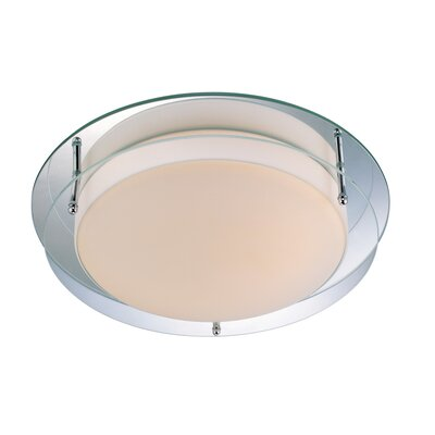 Hensley 2-Light Flush Mount Size: 10 W x 4 H