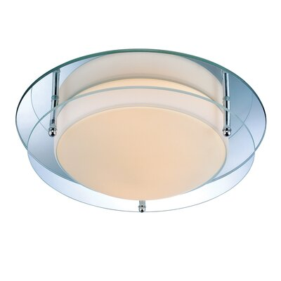 Hensley 2-Light Flush Mount Size: 11.75 W x 4 H