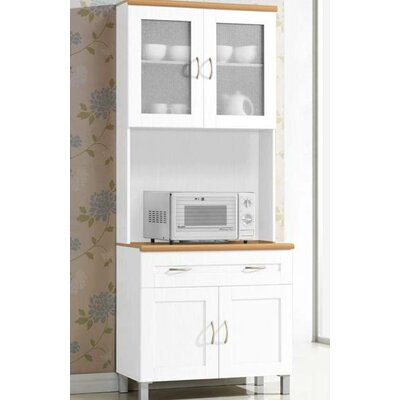 Newburgh China Cabinet Color: White