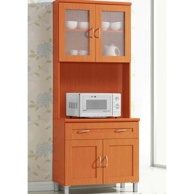 Newburgh China Cabinet Color: Cherry