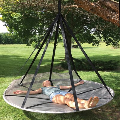 Juno Flying Saucer Hanging Polyester Chair Hammock