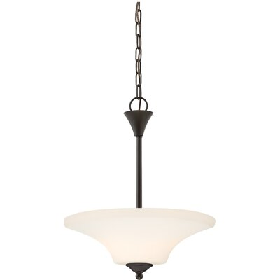 Mathews 2-Light Bowl Pendant Finish: Mahogany Bronze