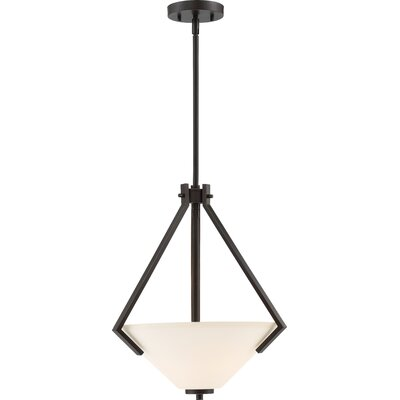 Walton 2-Light Bowl Pendant Finish: Mahogany Bronze