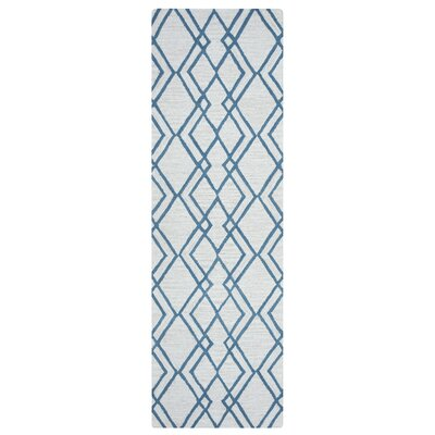 Schaefer Hand-Tufted Light Gray Area Rug Rug Size: 5 x 8