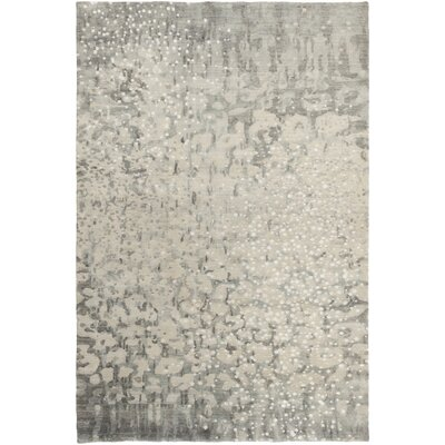 Eridani Ivory Solid Rug Rug Size: Rectangle 5 x 8