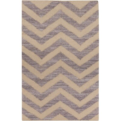 Phillips Beige/Mauve Area Rug Rug Size: Rectangle 5 x 8