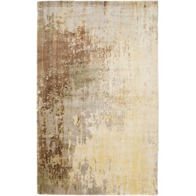 Eridani Beige/Taupe Area Rug Rug Size: Rectangle 5 x 8