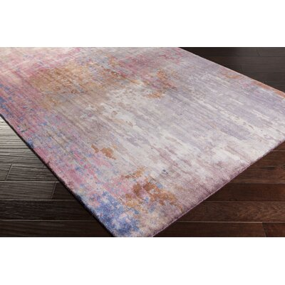 Eridani Handmade Pink Area Rug Rug Size: Rectangle 2 x 3