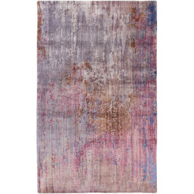 Eridani Handmade Pink Area Rug Rug Size: Rectangle 5 x 8