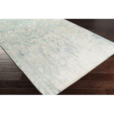 Eridani Light Gray/Blue Area Rug Rug Size: 8 x 11