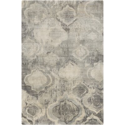 Eridani Gray/Charcoal Area Rug Rug Size: Rectangle 8 x 11