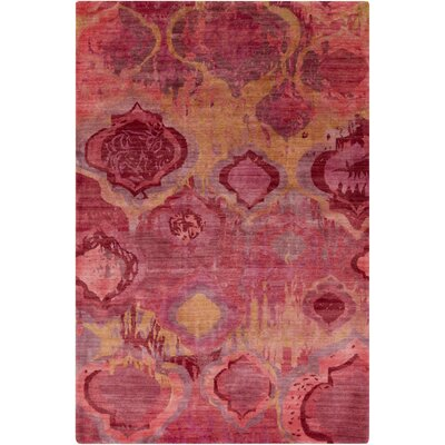 Eridani Magenta Area Rug Rug Size: Rectangle 2 x 3