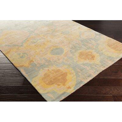 Eridani Handmade Beige/Slate Area Rug Rug Size: 8 x 11