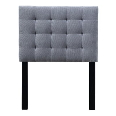 Owens Uphostered Panel Headboard Size: Twin