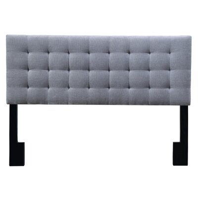 Owens Uphostered Panel Headboard Size: King