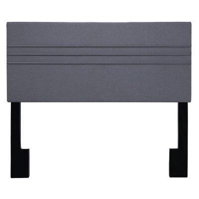 Maynard Upholstered Panel Headboard Upholstery: Heather Dark Gray, Size: Full/Queen