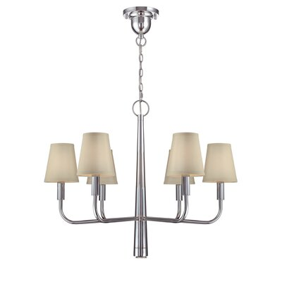 Shepard 6-Light Shaded Chandelier