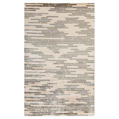 Barrera Parchment/Icicle Rug Rug Size: Rectangle 5 x 8