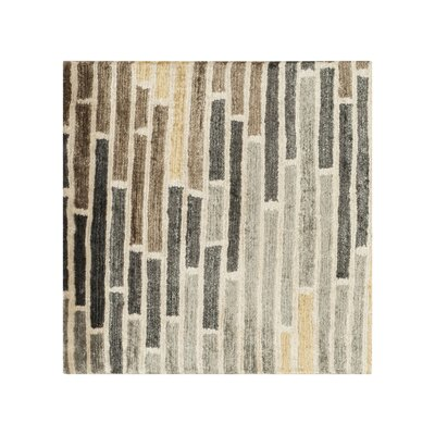 Barrera Icicle/Slate Gray Rug Rug Size: Rectangle 2 x 3
