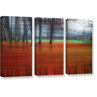 'Abstract Autumn' Graphic Art Print Multi-Piece Image on Canvas Size: 24
