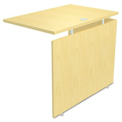 Frey 29.5 H Desk Bridge and Connector Size: 29.5 H x 42 W x 23.63 D, Finish: Maple