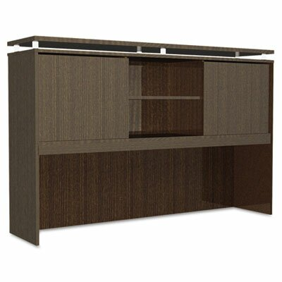 Frey 42.5 H Desk Hutch Finish: Espresso, Size: 42.5 H x 72 W x 15 D