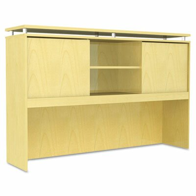 Frey 42.5 H Desk Hutch Size: 42.5 H x 66 W x 15 D, Finish: Maple