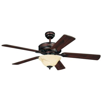 "52"" Rodgers 5 Reversible Blade Ceiling Fan LATT4380 37983235"