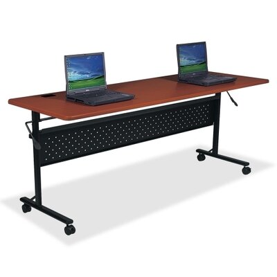Westfall Flipper Training Table Size: 72 W, Finish: Mahogany