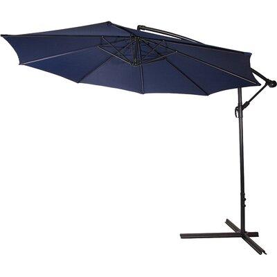 10 Stockham Cantilever Umbrella Canopy Color: Blue
