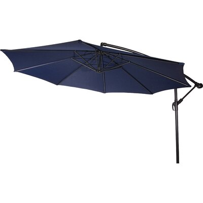10 Stockham Cantilever Umbrella Canopy Color: Blue