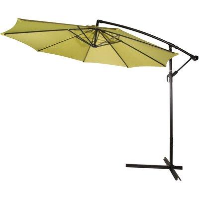 10 Stockham Cantilever Umbrella Canopy Color: Light Green