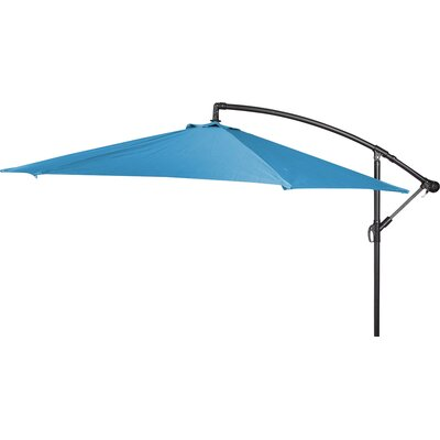 10 Stockham Cantilever Umbrella Canopy Color: Teal