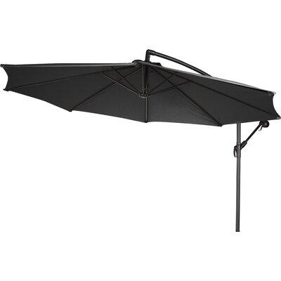 10 Stockham Cantilever Umbrella Canopy Color: Black