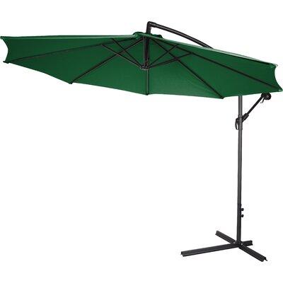 10 Stockham Cantilever Umbrella Canopy Color: Dark Green