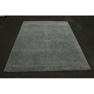 Bennet Shag Plain Gray Area Rug