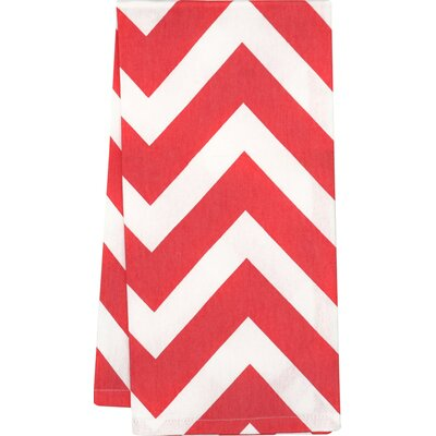 Kirkman Kitchen Towel Color: Red/White