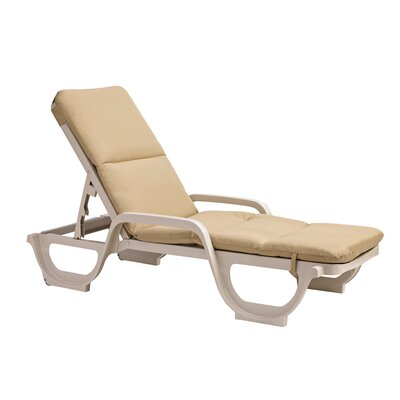 Bradgate Outdoor Chaise Lounge - Product photo