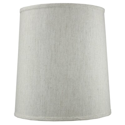 14 Shantung Fabric Drum Lamp Shade Color: Oatmeal