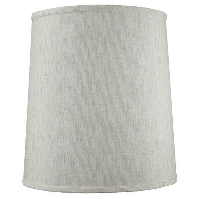 14 Shantung Fabric Drum Lamp Shade Color: Oatmeal