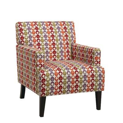 Doran Fabric Armchair Upholstery: Flair Confetti
