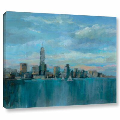 'Manhattan Tower of Hope' Painting Print on Wrapped Canvas Size: 14