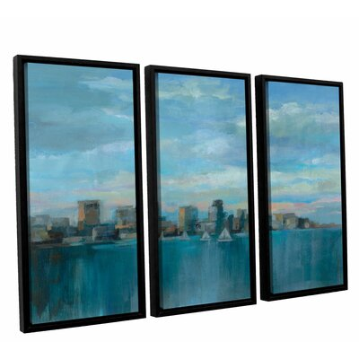 'Manhattan Tower of Hope' Painting Print Multi-Piece Image on Canvas Size: 24
